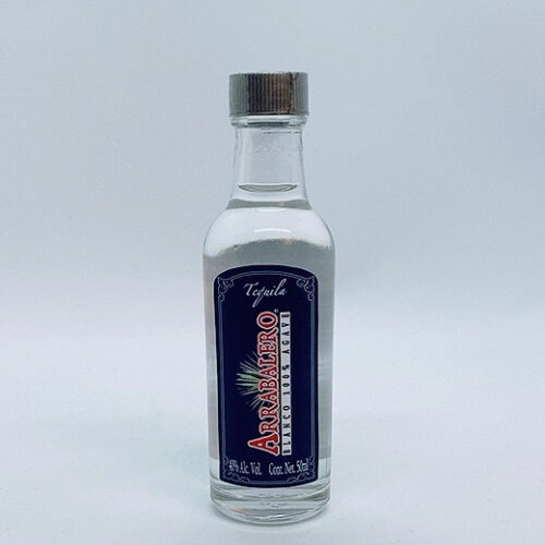 5 cl. blanco tequila