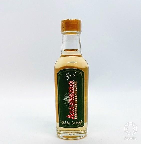 Tequila reposado 5 cl.