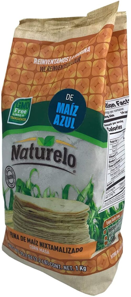 Blå majsmel 1 kg - GMO fri og glutenfri